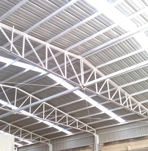 estructura nave aluminio